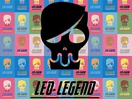 LEO-LEGEND logo平面随性 致敬安迪沃霍尔