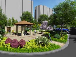 园林景观设计TOP4塘桥项目四(张家港市塘桥镇何桥小区五期景观设计方案)