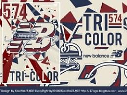 574 TRI COLOR