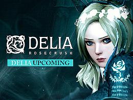 湛蓝玫瑰-DELIA,绽放