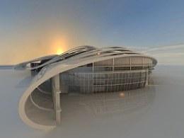 广西新会展中心设计预想方案(毕业设计)