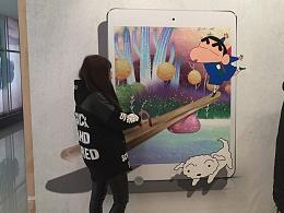 迪士尼互动3D立体画3D墙贴
