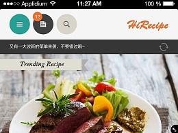 烹饪社交类app