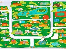 东北师范大学(本部)卡通地图