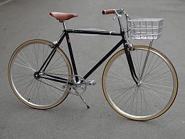 TSUNAMI雷诺520套管铜焊复古自行车