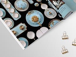 《华彩-龙华文产巡礼》画册及发布会手册设计