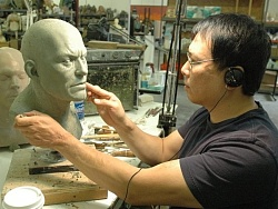 【ECC】暴雪力邀Steve Wang操刀Star Craft II 人族大比例雕像