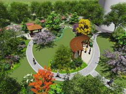 园林景观设计TOP4塘桥项目一(张家港消防大队景观提升设计)