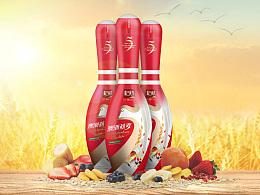杞航-澳洲燕麦饮品外包装设计