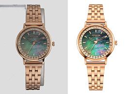 凉城设计-手表修图拍摄原图及后期处理效果对比