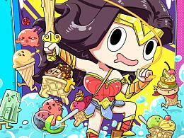 神奇女侠ice cream