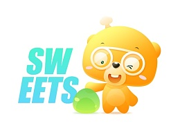 糖果熊—熊博士卡通形象设计