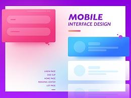 「MEOW」-移动界面设计-无色彩不界面