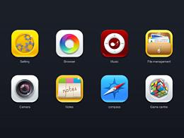 一组icon练习,附带源文件
