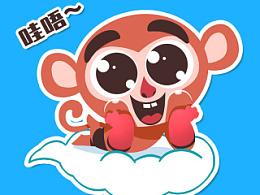 逗哔猴(逗比猴)