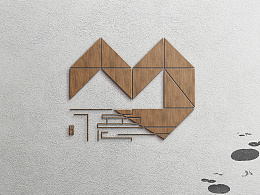 美德馆logo第N稿样机展示