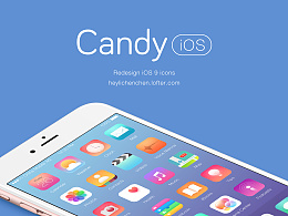 Candy iOS - Redesign iOS 9 icons