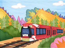 广汽丰田-《座驾精灵世界》&一份送给孩子们的新年礼物
