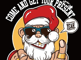 插画圣诞节