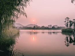 拍成了晨曦的夕阳