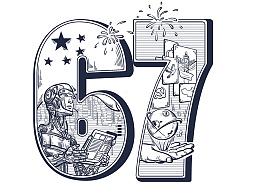 国庆特辑——小鱼在百度首页祝大家国庆节快乐