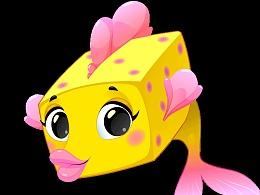 盒子鱼gif表情