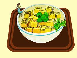 客家小吃——酿豆腐