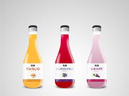 妙园果汁饮料包装设计
