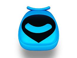 百度无人车logo设计-百智行,智由行