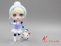 MsDreamm「寒冬精灵奥利安娜」英雄联盟冰雪节发条奥莉安娜手办