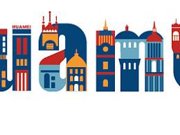 英文字体设计 city landmark