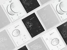 现代感海报设计 | FRUIT FRUIT LIGHT