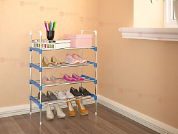 鞋架 衣柜 实木床 双十一在家闭关,现在做的图色彩上面终于自己满意了