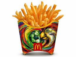 2014 McDonald's 世界杯 薯条盒设计