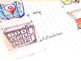 纸片主题icon