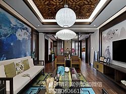 淄博绿城装修,中式风格传承经典之作
