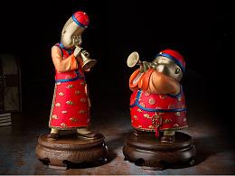 铜师傅 全铜摆件《福声》铜工艺品 家居饰品 礼品 摆件