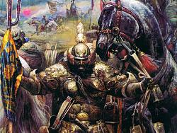 油画作品《战神》