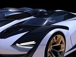 SRT-车模建模渲染