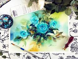 日练~一簇心上蓝~