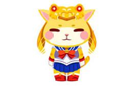 记忆中的童年-咕嘟吧嗒的小猫cosplay