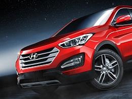 Hyundai_Santa_Fe_Sport渲染练习