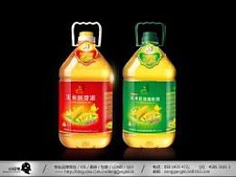 食用玉米油包装设计-小设鬼作品