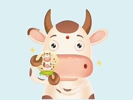 矢量斑点(?)奶牛习作