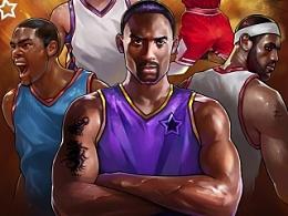 篮球 海报 游戏