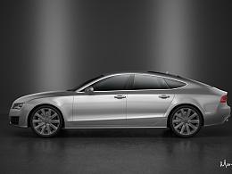 Audi A7 渲染练习