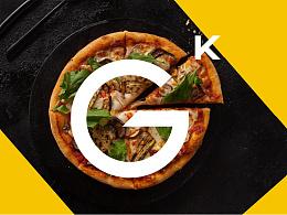 GK PIZZA .积客智造披萨品牌视觉形象设计