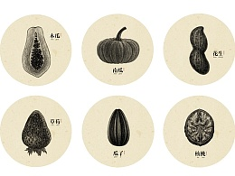 装饰画【素年锦食】の植物