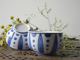 【初于蓝工作室】——三只青花碗