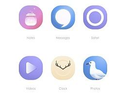 《海上月光》UI主题界面设计